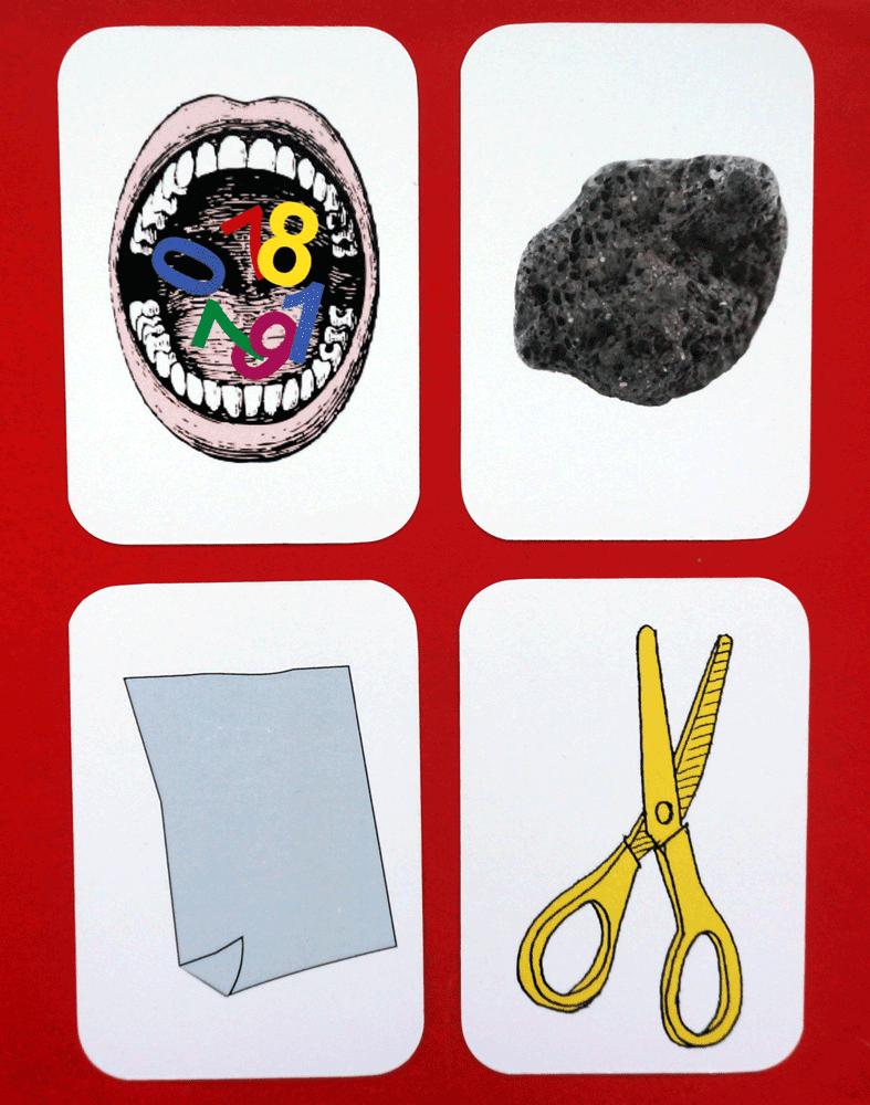 4 cartes de la bataille-melee