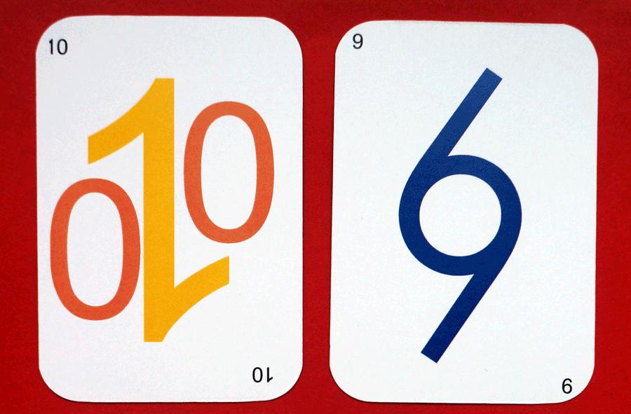 la carte 10 et 9