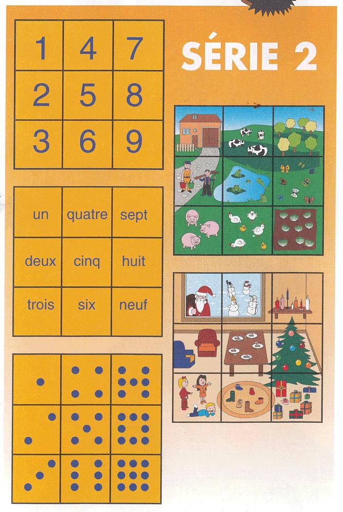 """description du contenu de """"Nombres en puzzle"""" série 2"""