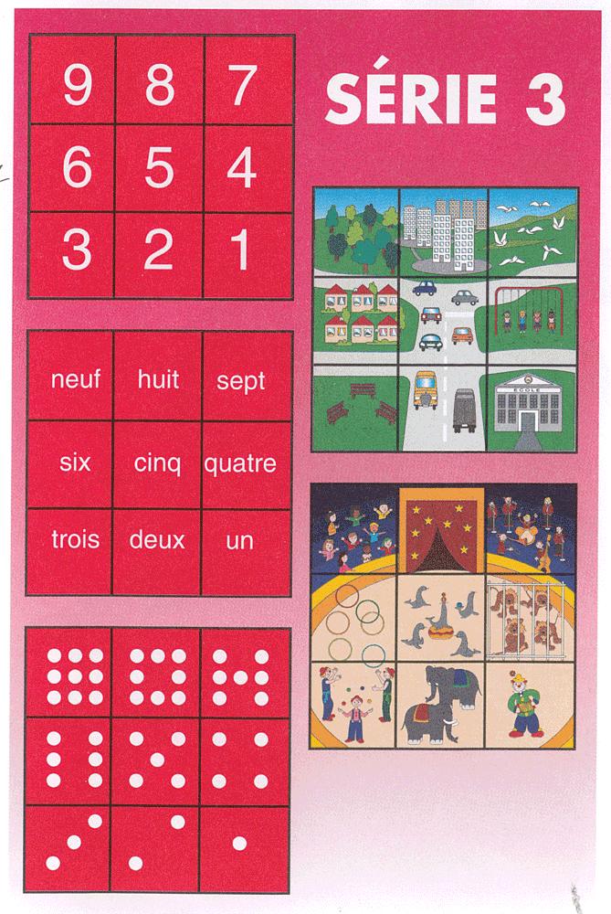 """description du contenu de """"Nombres en puzzle"""" série 3"""