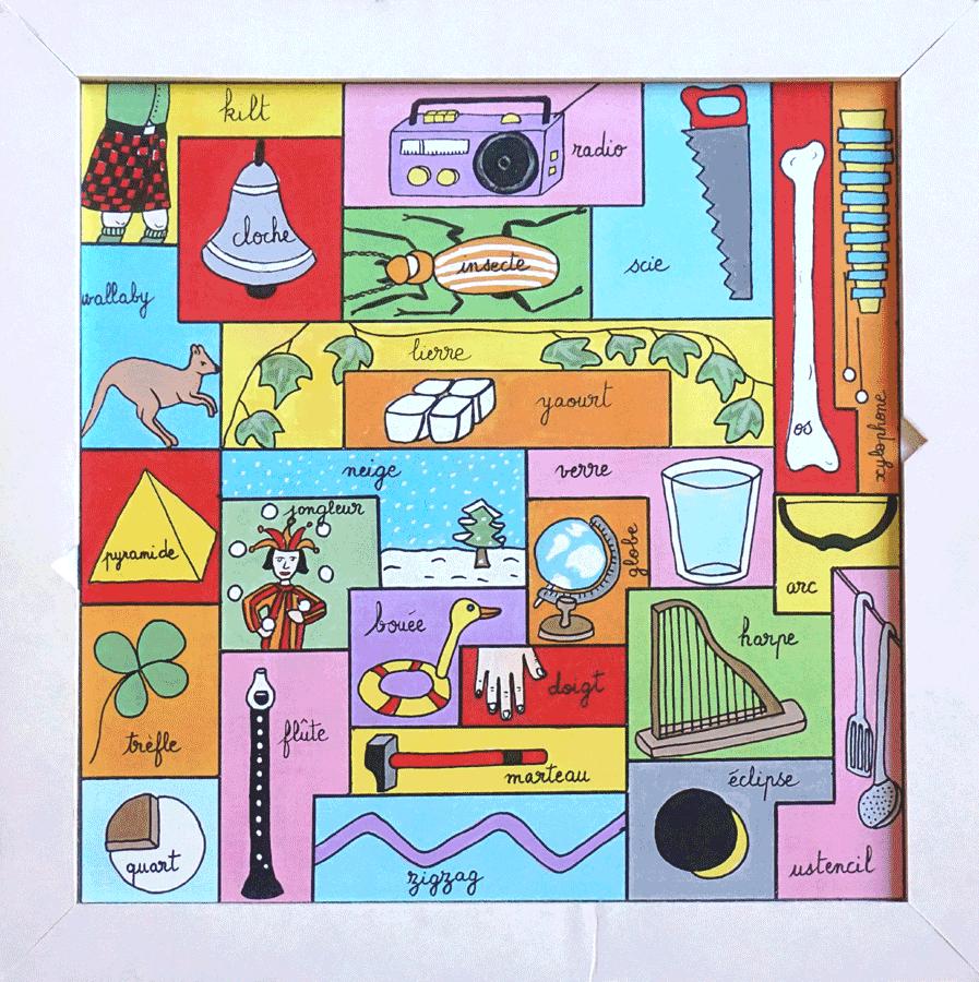 """puzzle """"Lou"""" : le socle"""