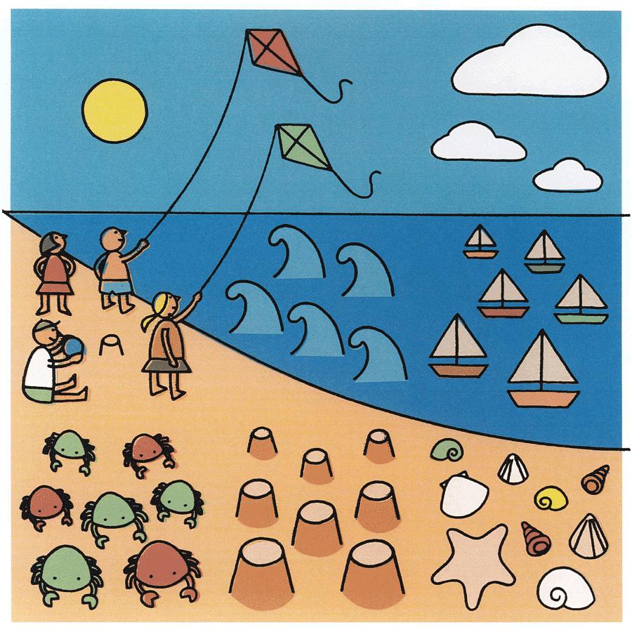 """puzzle """"plage"""" terminé"""
