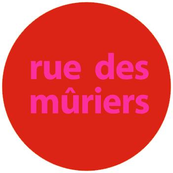 le logo de la chaine youtube des films que je fais avec benoit mon amoureux : rue des muriers