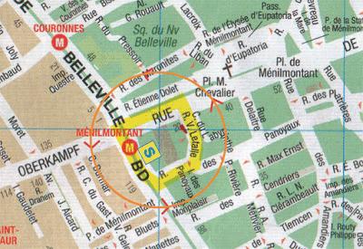 """plan du parcours """"autour du soleil"""" ou """"chain letter"""""""